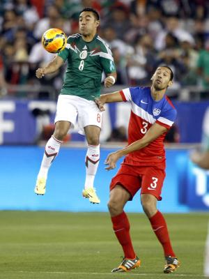 Green makes US debut in 2-2 draw with Mexico