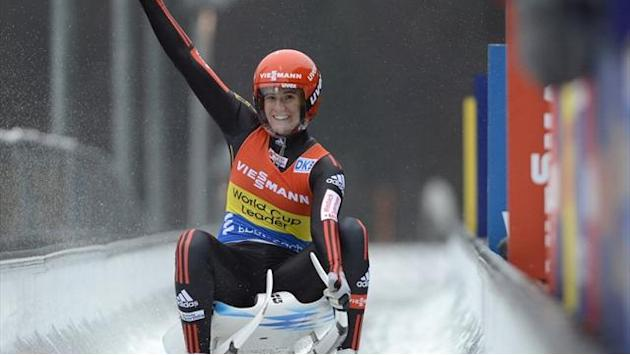 Luge - Geisenberger wins maiden World Cup title