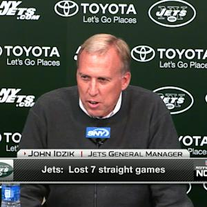 New York Jets GM John Idzik: Jets season 'gut wrenching'