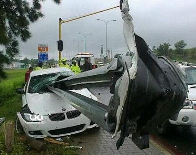 A road accident you saw
