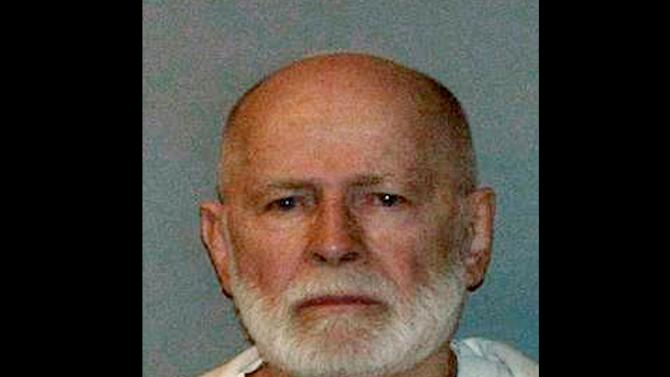 """FILE - This June 23, 2011 booking photo provided by the U.S. Marshals Service shows James """"Whitey"""" Bulger, who fled Boston in 1994 and wasn't captured until 2011 in Santa Monica, Calif., after 16 years on the run. Lawyers for James """"Whitey"""" Bulger acknowledged he ran a lucrative criminal enterprise that took in millions through illegal gambling, extortion and drug trafficking. On Friday, July 26, 2013, when the judge asked attorney J.W. Carney Jr. if Bulger might testify, he said only that he would let her know after his other witnesses testify. The first defense witnesses are to be called Monday, July 29. (AP Photo/U.S. Marshals Service, File)"""