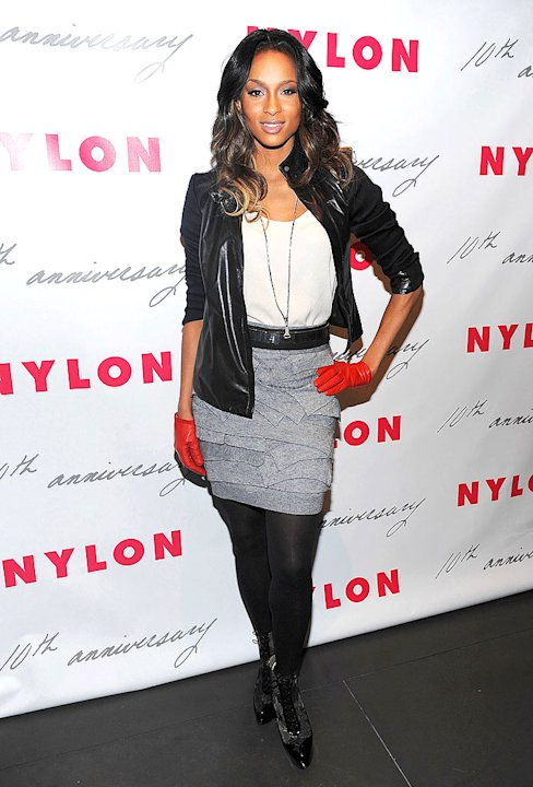 Ciara Nylon Mag Party