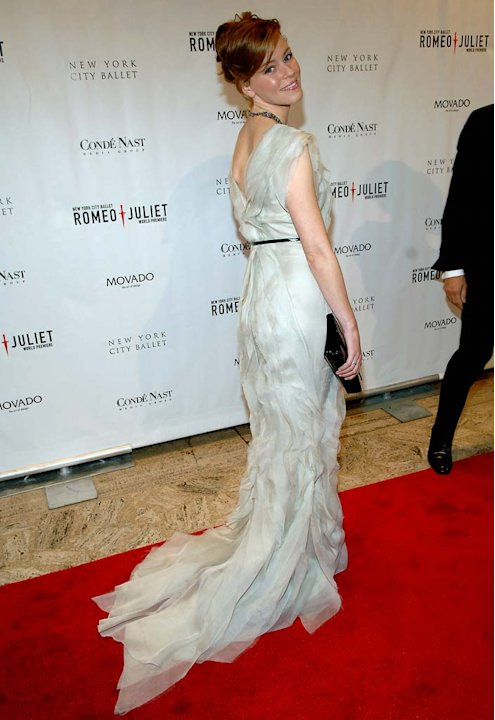Elizabeth Banks at the New York City Ballet Presents the World Premiere of Peter Martins Full-Length Production of Romeo + Juliet. 