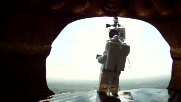 Don't Worry, the Lego Version of the Space Jump Went Off Without a Hitch
