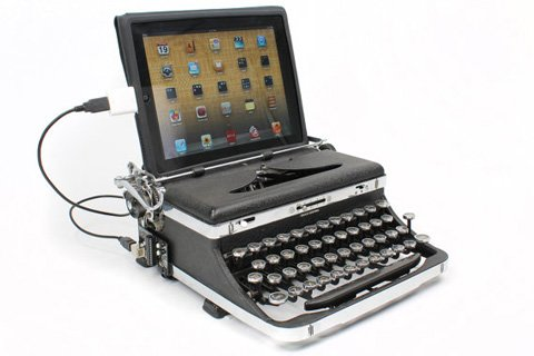 Typewriter Keyboard Dock