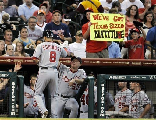 Espinosa's single in 12th lifts Nats over Astros