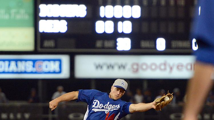 MLB: Spring Training-Los Angeles Dodgers at Cincinnati Reds