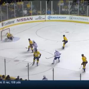 Pekka Rinne Save on Mark Arcobello (05:53/1st)
