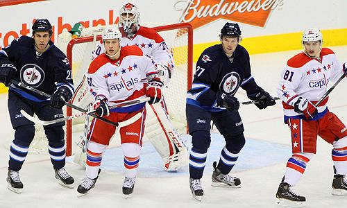 NHL: Washington Capitals vs. WInnipeg Jets