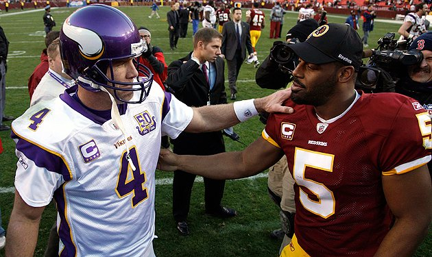 Brett Favre, DONOVAN MCNABB lead league in 'BS Wins' since 2000