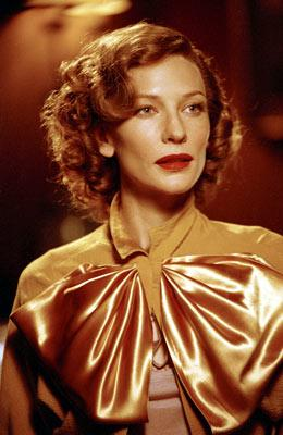 Cate Blanchett as Katharine Hepburn in Miramax Films' The Aviator