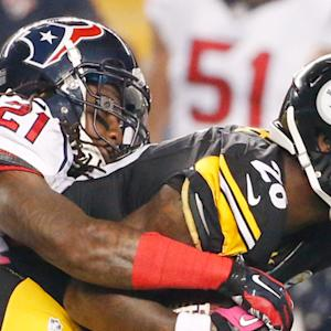 Pittsburgh Steelers running back Le'Veon Bell caps scoring spree to end half
