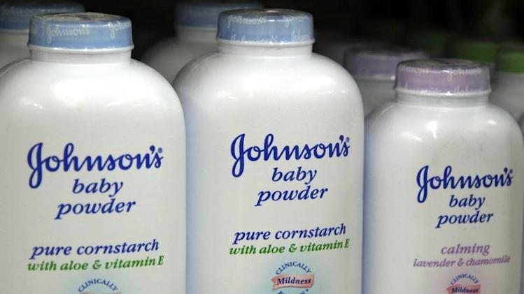 Products made by Johnson & Johnson for sale on a store shelf in Westminster