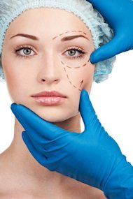 Plastic surgery to preserve youth.