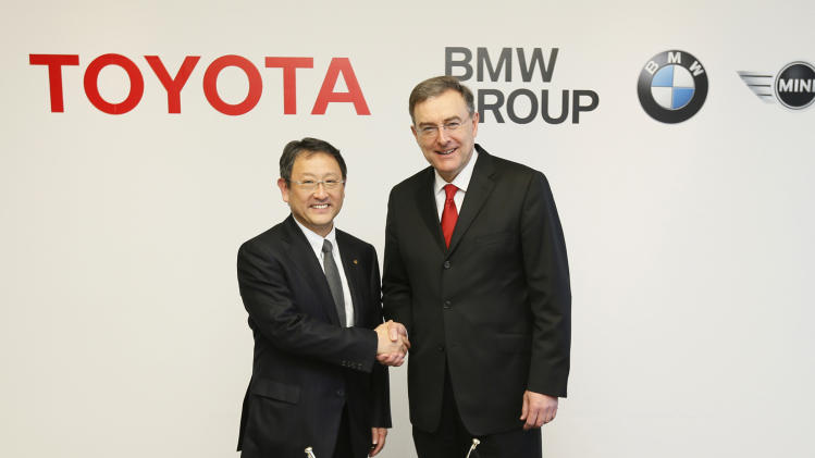 Toyota, BMW working on new battery technology