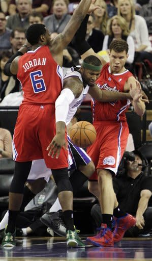 Griffin leads Clippers past Kings 93-85