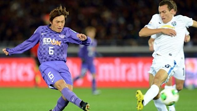 2012, Toshihiro Aoyama, Sanfrecce Hiroshima-Auckland City, AFP