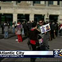 Rally Held In AC To Show Support For Police