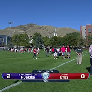 Recap: Washington women's soccer shuts out Utah