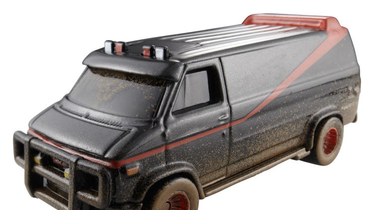 Hot Wheels A-Team Custom GMC Panel Van