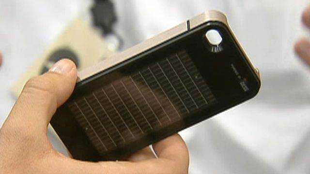 Hot tech: Solar-powered iPhone cases