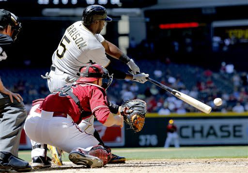 Pollock homers twice, D-backs rout Pirates 10-2