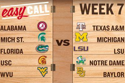 Easy Call: How road teams can rule college football's Week 7
