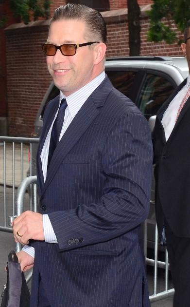 Stephen Baldwin attends Alec Baldwin and Hilaria Thomas' wedding ceremony at St. Patrick's Old Cathedral in New York City on June 30, 2012 -- Getty Premium