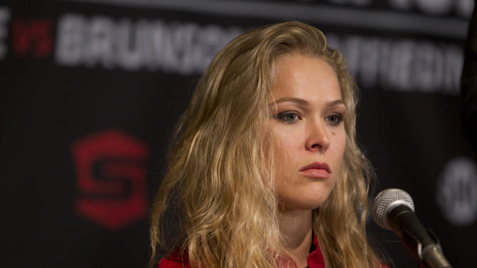 Strikeforce: Rousey v Kaufman Press Conference
