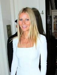 Gwyneth Paltrow spotted arriving at the Obama Victory Fund 2012 dinner at Mark's club in London on September 19, 2012 -- Getty Images