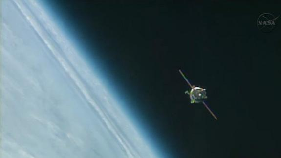 US-Russian Crew Arrives at Space Station After 6-Hour Flight