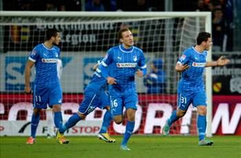 Fabian Johnson scores in Hoffenheim's loss to Leverkusen