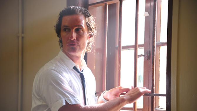 "This film image released by Millennium Films shows Matthew McConaughey in a scene from ""The Paperboy.""  (AP Photo/Millennium Films, Anne Marie Fox)"