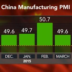 HSBC April China Manufacturing PMI at 48.9