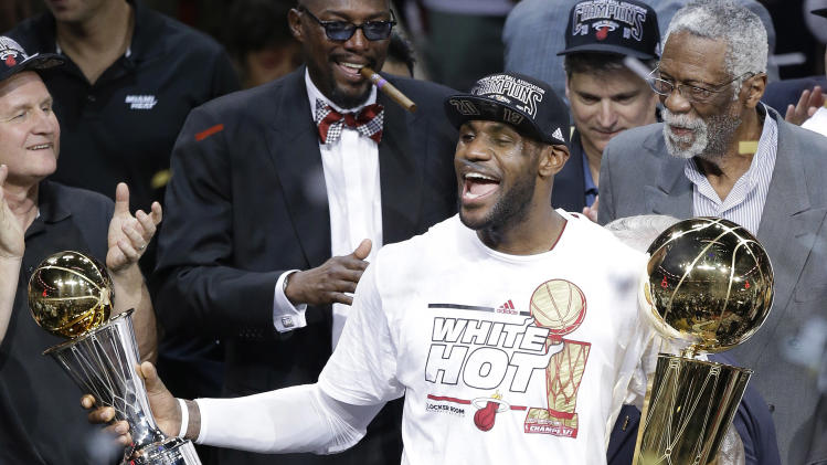 Heat wave: Miami's journey to the 2013 NBA championship