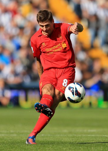 Steven Gerrard has made over 400 appearances for Liverpool