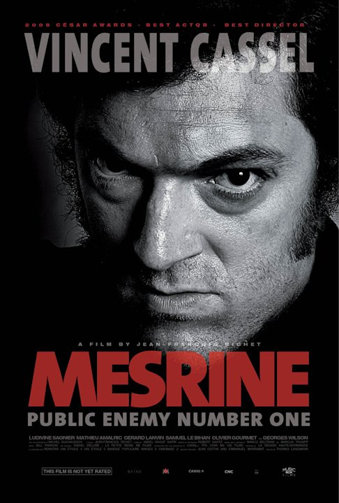 Mesrine: Public Enemy #1 Poster Production Stills Music Box 2010