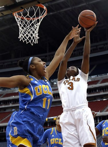 No. 17 UCLA women knock off No. 12 Texas 62-42
