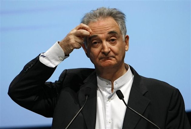 Jacques Attali à Cannes en octobre 2009.