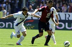 Genoa 0-0 Inter: Dour draw no use for Nerazzurri but resolute Rossoblu safe in top flight
