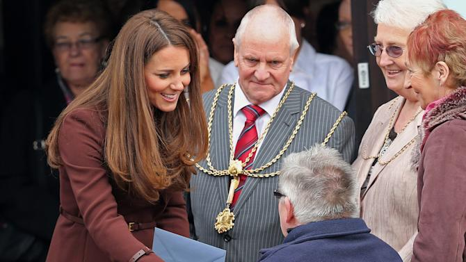 The Duchess Of Cambridge Visits Grimsby