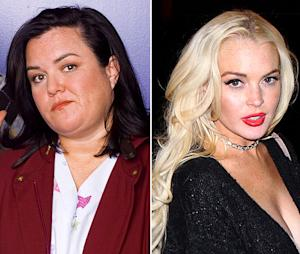 "Rosie O'Donnell: Lindsay Lohan Isn't ""Capable"" of Playing Elizabeth Taylor"