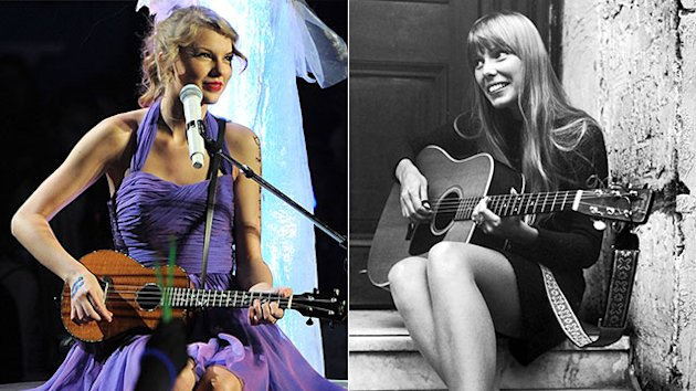 Taylor Swift NOT playing Joni Mitchell in film version of 'Girls Like Us'.