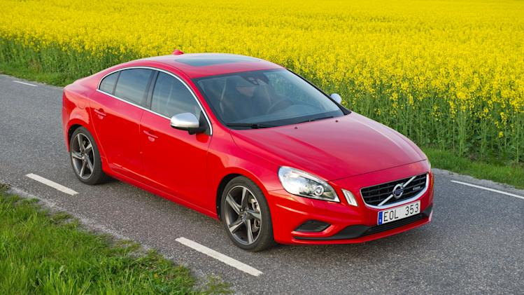 This undated image made available by Volvo shows the 2012 Volvo S60. (AP Photo/Volvo, Erik Fagerwall)