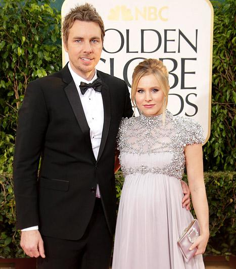 Kristen Bell and Dax Shepard Joke: We're Giving Our Child Up for Adoption