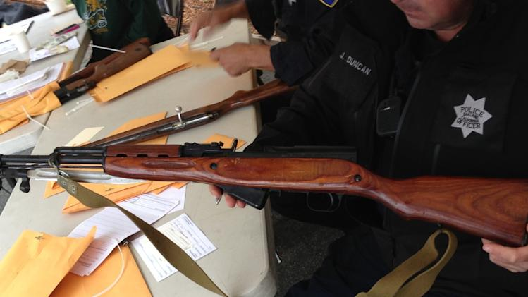 Police collect hundreds of guns in buyback program