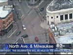 Traffic Lights Out At Milwaukee, North And Damen