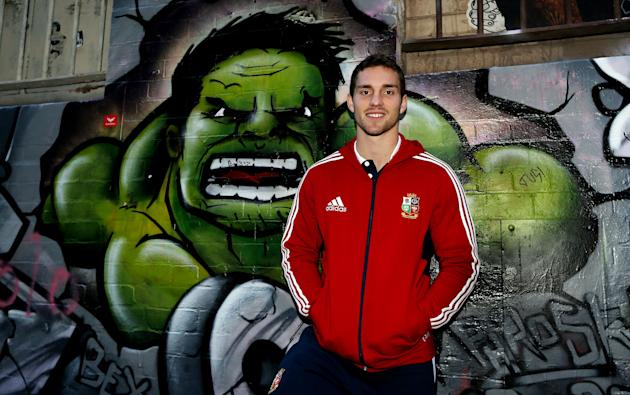 Rugby Union - 2013 British and Irish Lions Tour - British and Irish Lions George North Photocall