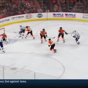 Steve Mason Save on Anton Stralman (08:37/2nd)
