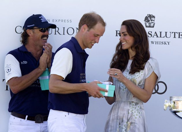 Prince William Kate Middleton polo LA